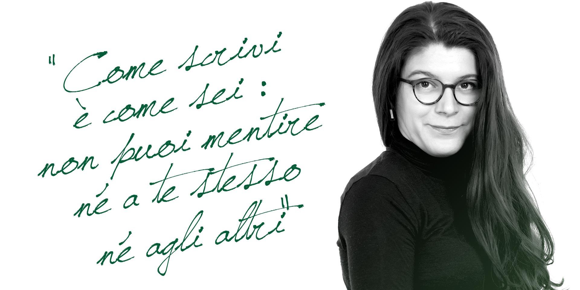 perito grafologo Francesca Villa